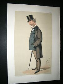 Vanity Fair Print: 1874 Lord William Hay, Explorer
